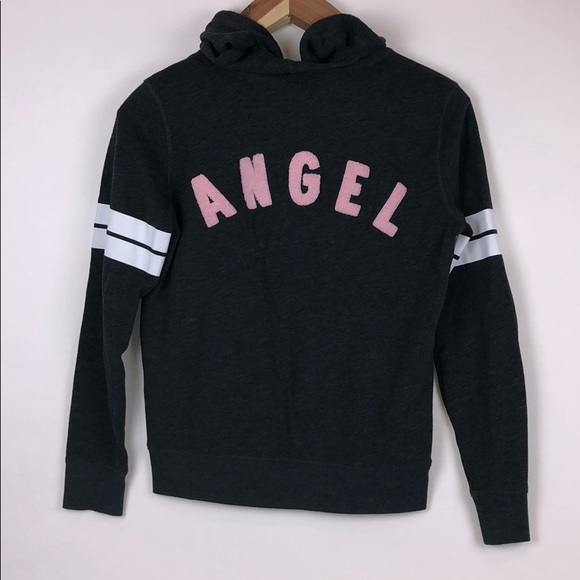 Victoria's Secret Tops - VICTORIA SECRET Angel Hoodie Size M